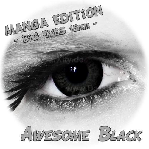 BIG-EYES-15mm-Manga-Edition-farbige-Kontaktlinsen-MIT-OHNE-STARKE-3-Monats