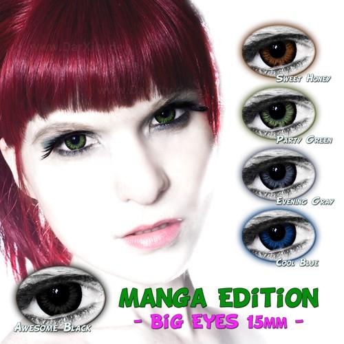 farbige kontaktlinsen mit ohne st rke manga edition big. Black Bedroom Furniture Sets. Home Design Ideas